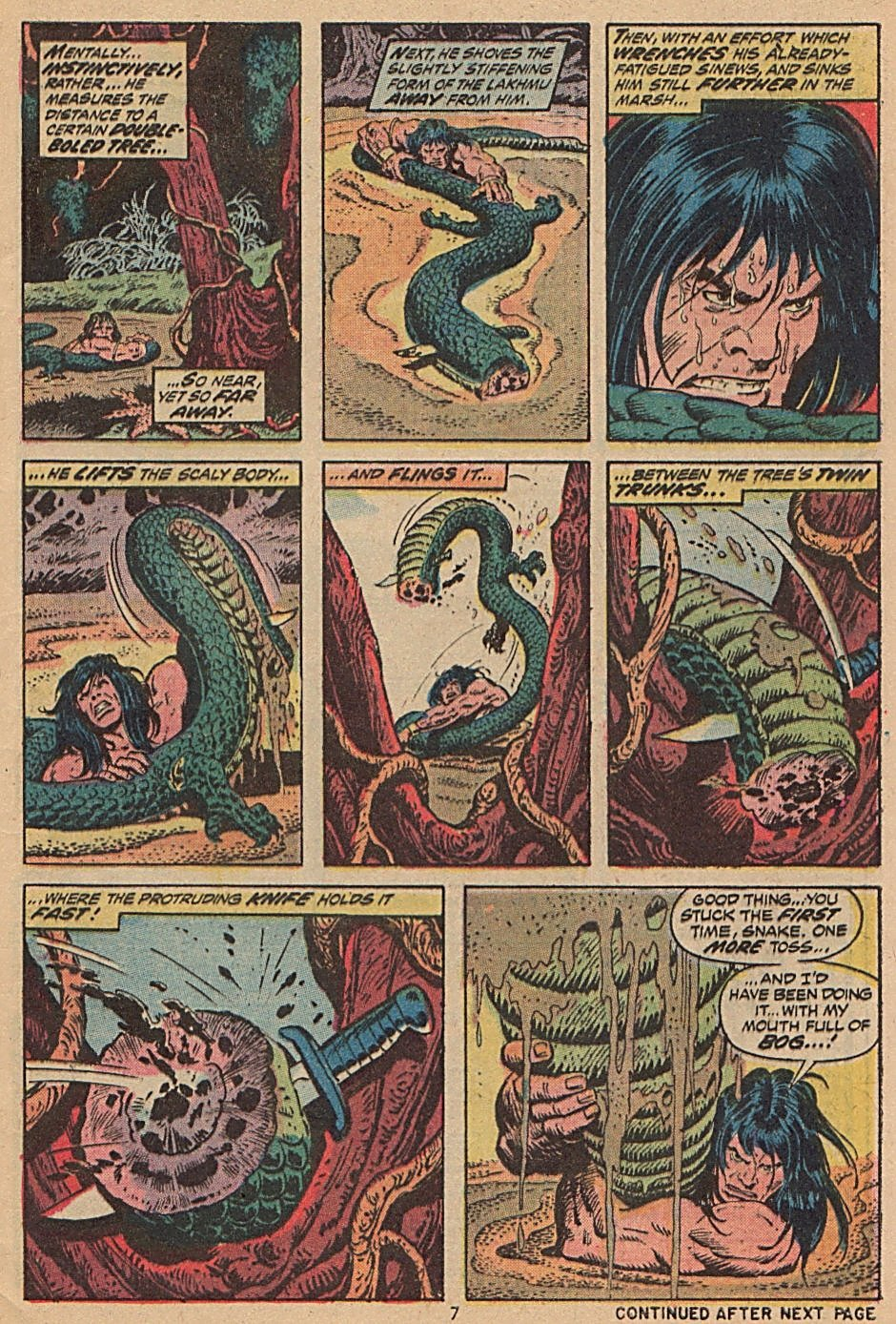 Conan the Barbarian (1970) Issue #28 #40 - English 7