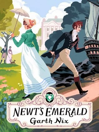 newt's emerald by garth nix book cover