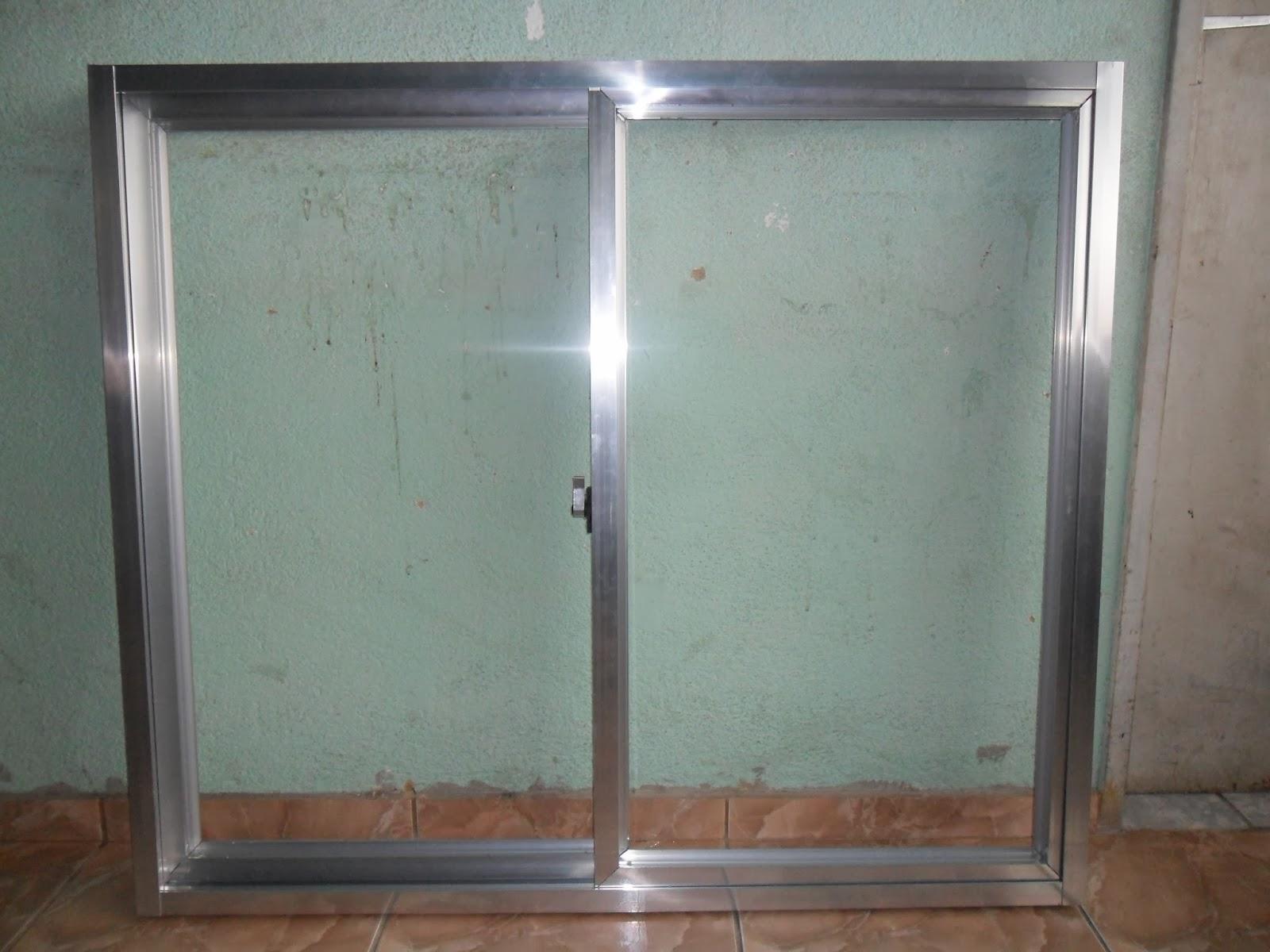 #634B3D DOMINGOS SERRALHEIRO: Janelas de alumínio (serviço realizado) 1958 Janela De Aluminio Uberaba