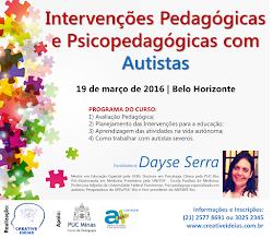 Curso Intervenções Pedagógicas e Psicopedagógicas com Autistas
