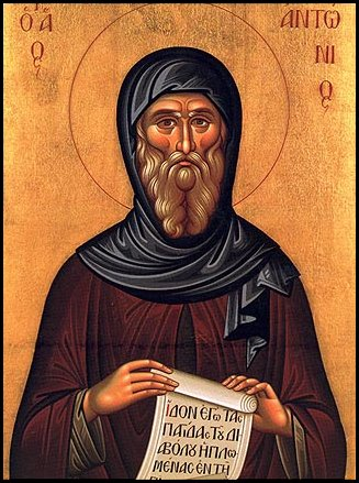 Christ The Bridegroom: Happy Feast of St. Anthony the ...