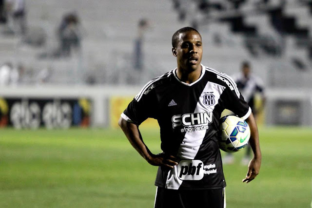 Um dos jogadores mais experientes da Ponte, Borges planeja mais gols nesta temporada (Foto: PontePress/Fábio Leoni)
