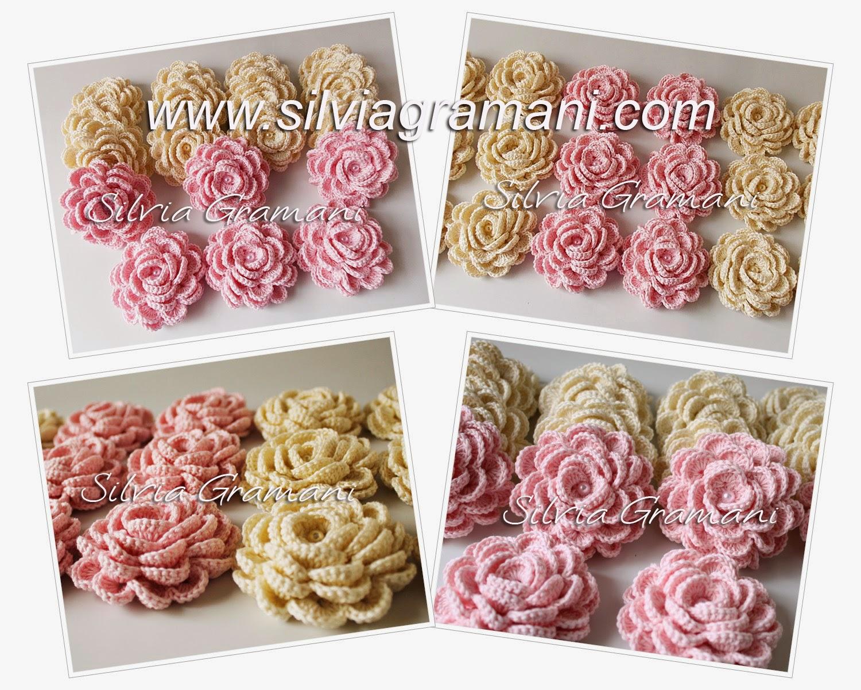 Rosas de Crochê