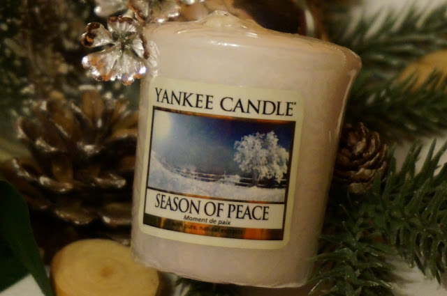 Season of Peace - zimowy zapach Yankee Candle