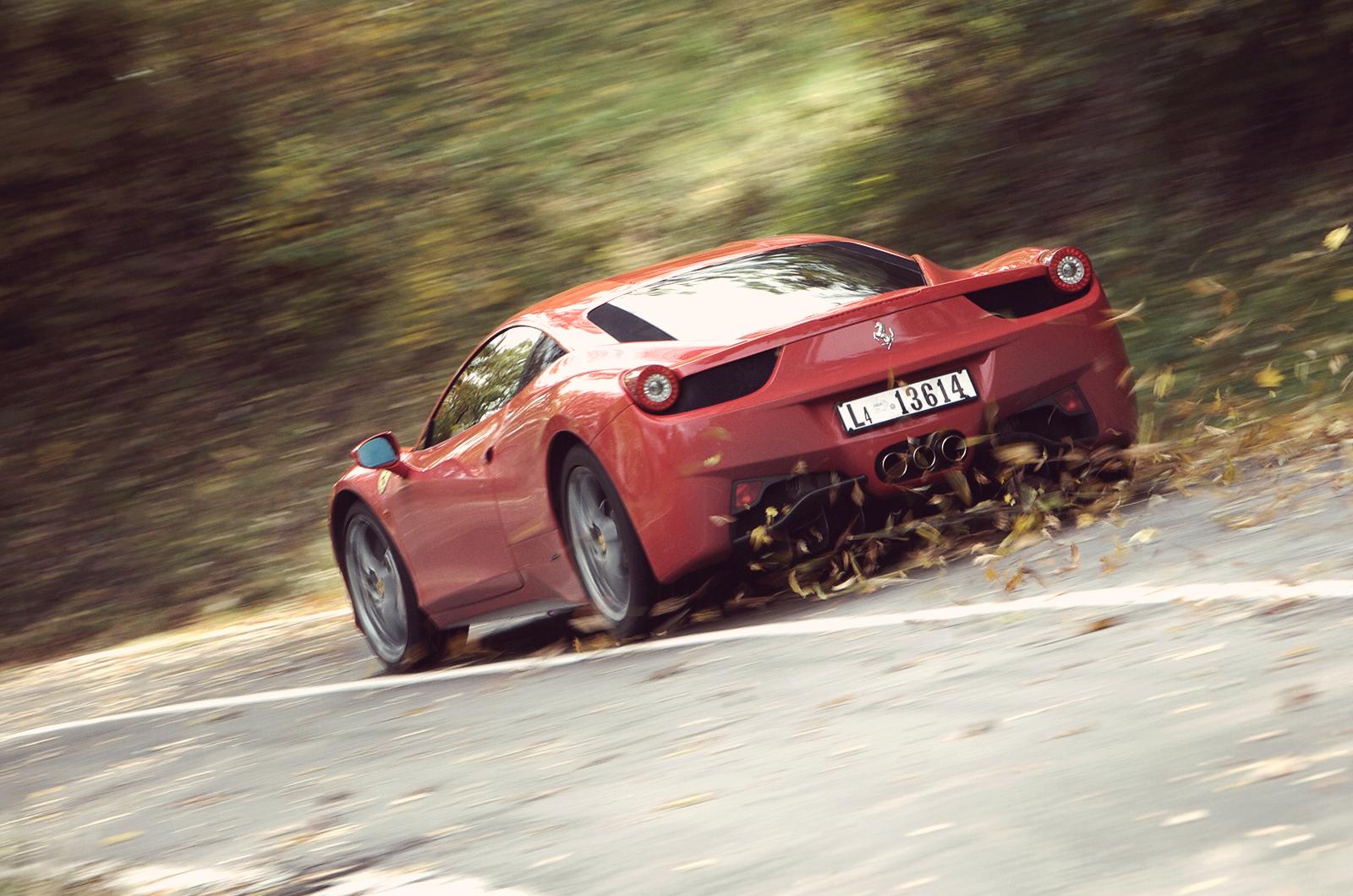 Ferrari 458 Italy