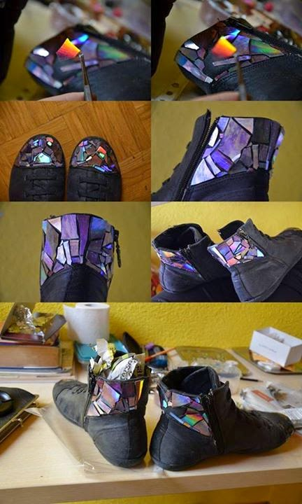 Crafts Using Used CD,s and DVD,s
