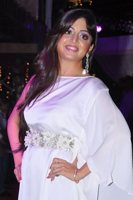 poonam kaur rwalk in white dress at sheesha sky launch latest photos