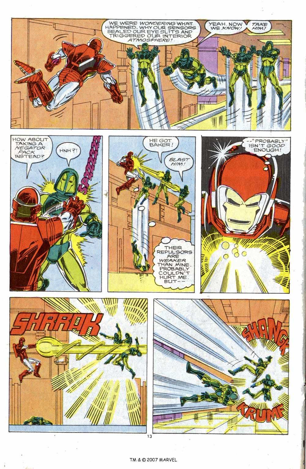 Captain America (1968) Issue #339b #269 - English 20