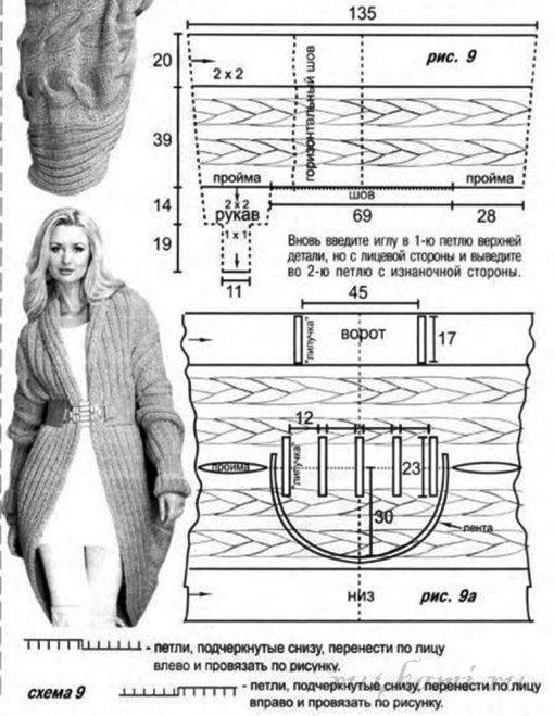 Вязание спицами, крючком, схемы 89