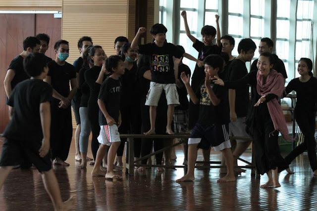 Foto-Foto Coboy Junior Musical Laskar Pelangi