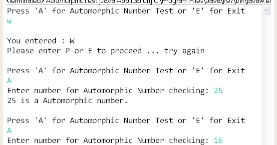 write a menu u2010driven class to accept a number from the user