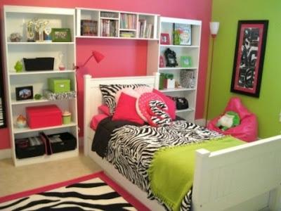 dormitorios cebra chicas