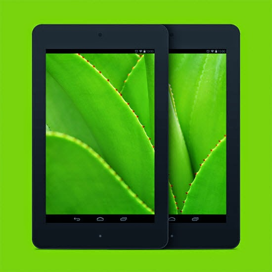 Nexus 7 PSD Mockup Templates 8
