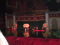 Obra teatral de Marionetas acuaticas - Hanoi (Vietnam)