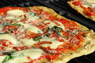 ... and More: Grilled Pizza with Roasted Tomatoes and Smoked Mozzarella