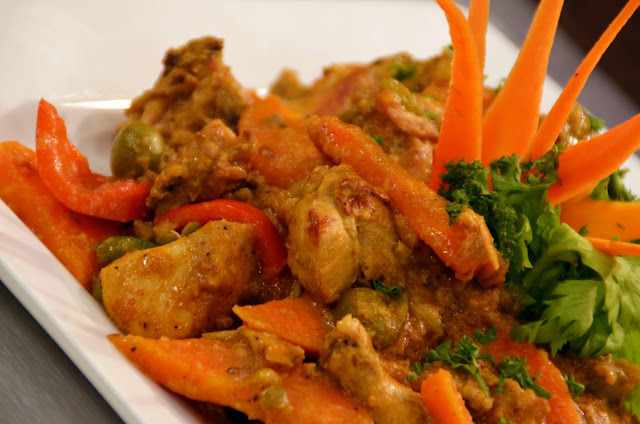 Chicken Stew with Peanut Sauce Recipe