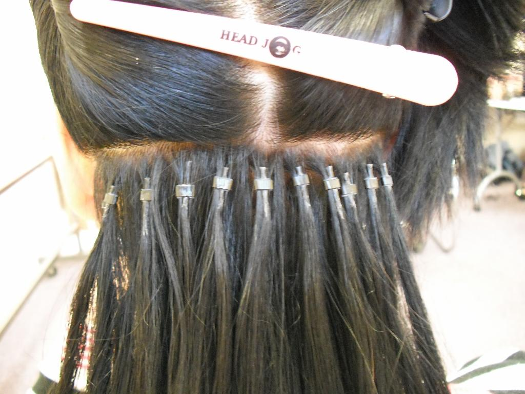 Micro Ring Color Hair Extensions 83