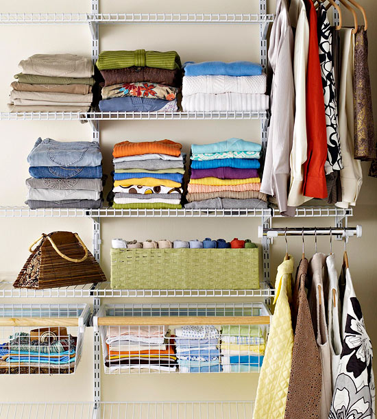 Modern furniture design easy organizing tips for closets for Organizing ideas for closets