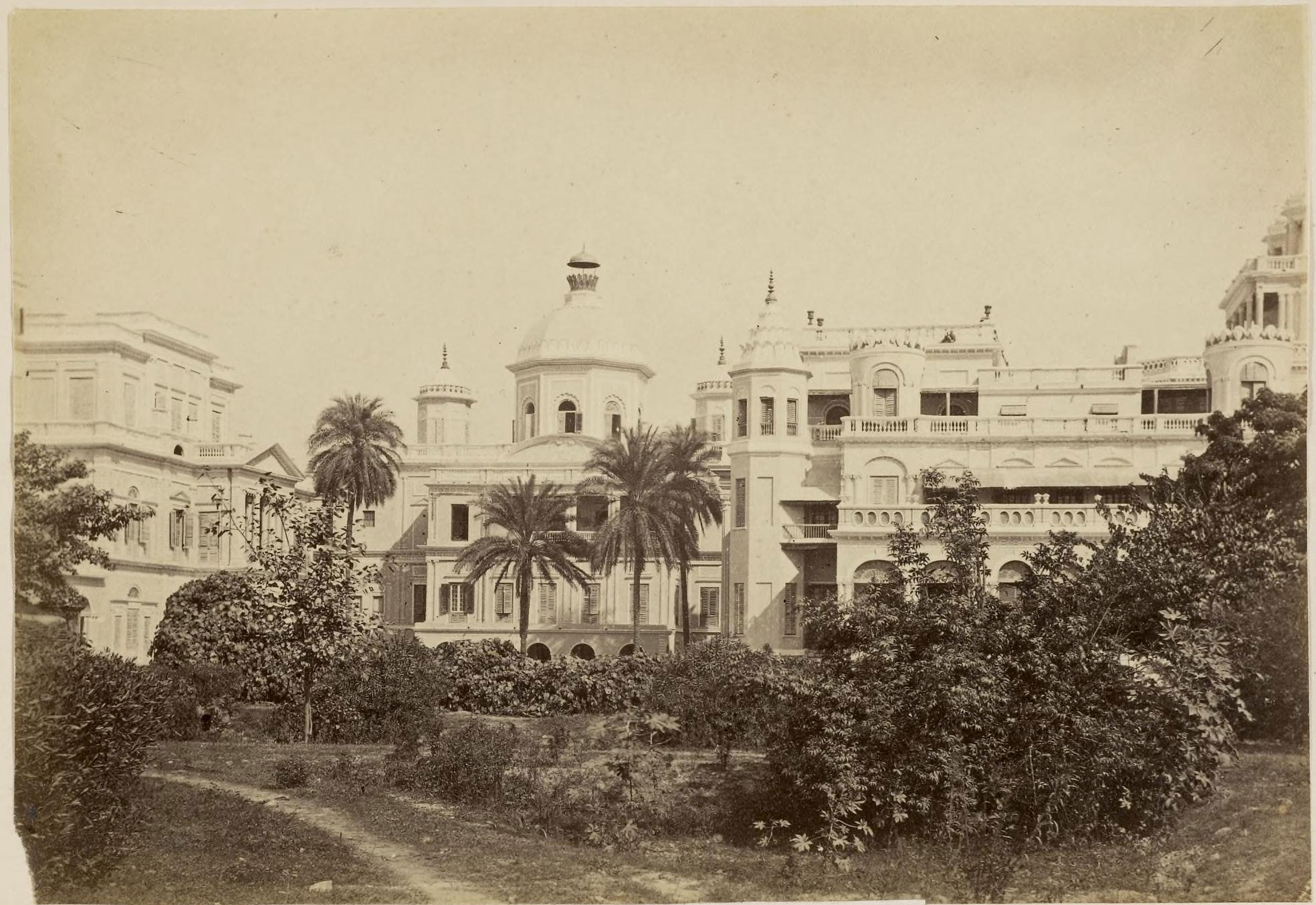 Chattar manzil palace lucknow c1870 39 s old indian photos for Architecture design for home in lucknow