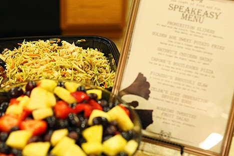 speakeasy party food