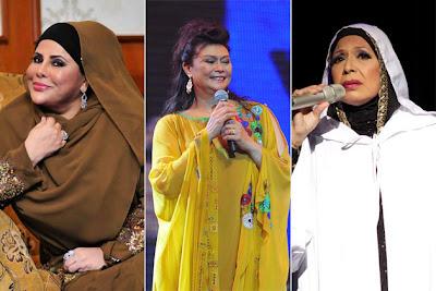 Malaysia, Hiburan, Artis Malaysia, Selebriti, Kak Pah, Sharifah Aini, Uji Rashid, Khaty Ibrahim, Kongsi, Pentas
