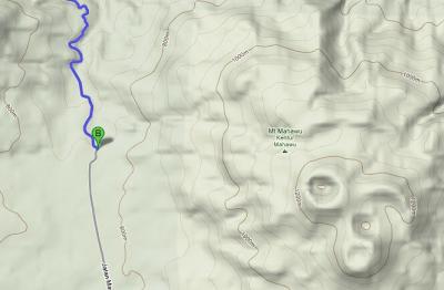 Topografi Mahawu