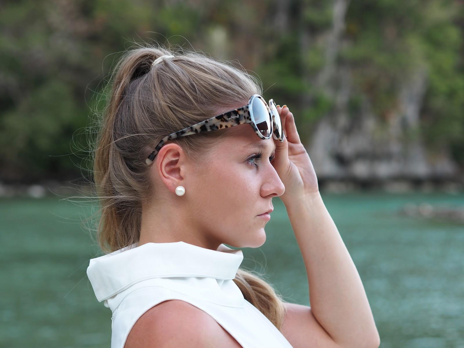 Cacharel Tortoiseshell Sunglasses, Katie Matthews