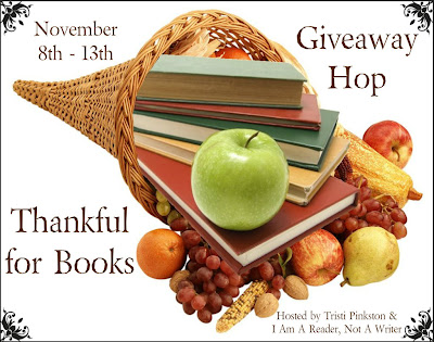 Thankful for Books Giveaway Hop