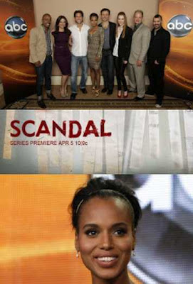 ABC's Scandal Starring Kerry Wahsington