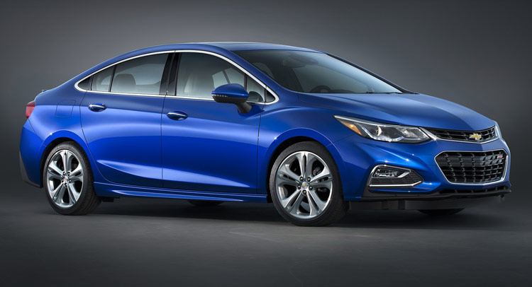 North America S Chevrolet Cruze Compact Sedan