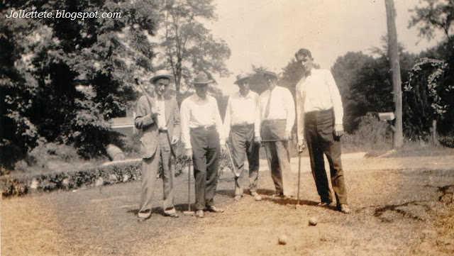Men playing croquet, Shenandoah, VA about 1925-1930