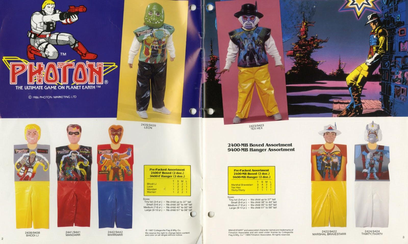 costumes catalog