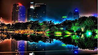 Beautiful City lights pc wallpaper pictures