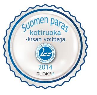 Suomen paras kotiruoka 2014!