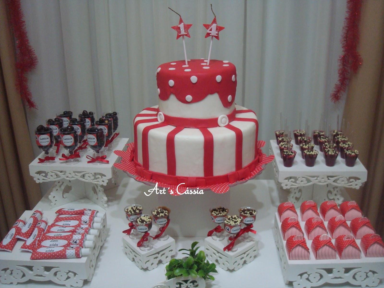 Art's Cássia Decoraç u00e3o Vermelho e Branco -> Decoração De Zebra Para Aniversario