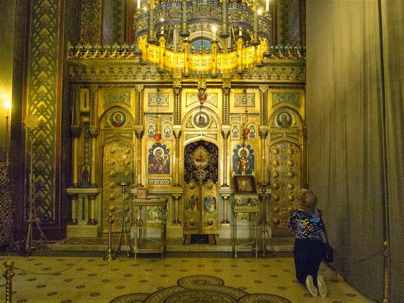 Iconostasio de la Catedral de Curtea de Arges