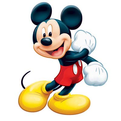 how to make mickey mouse face