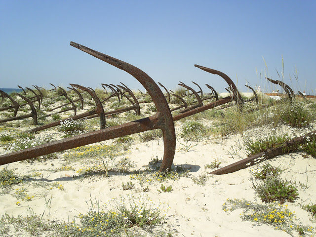 Tavira Portugalia plaża kotwic Algarve plaże najlepsze