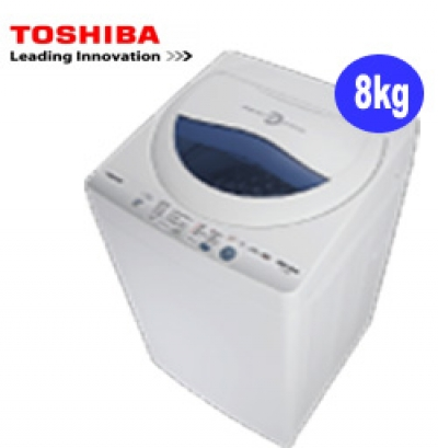 Mesin cuci : thosiba washing machine top loading 8 kg, type aw-a880sn