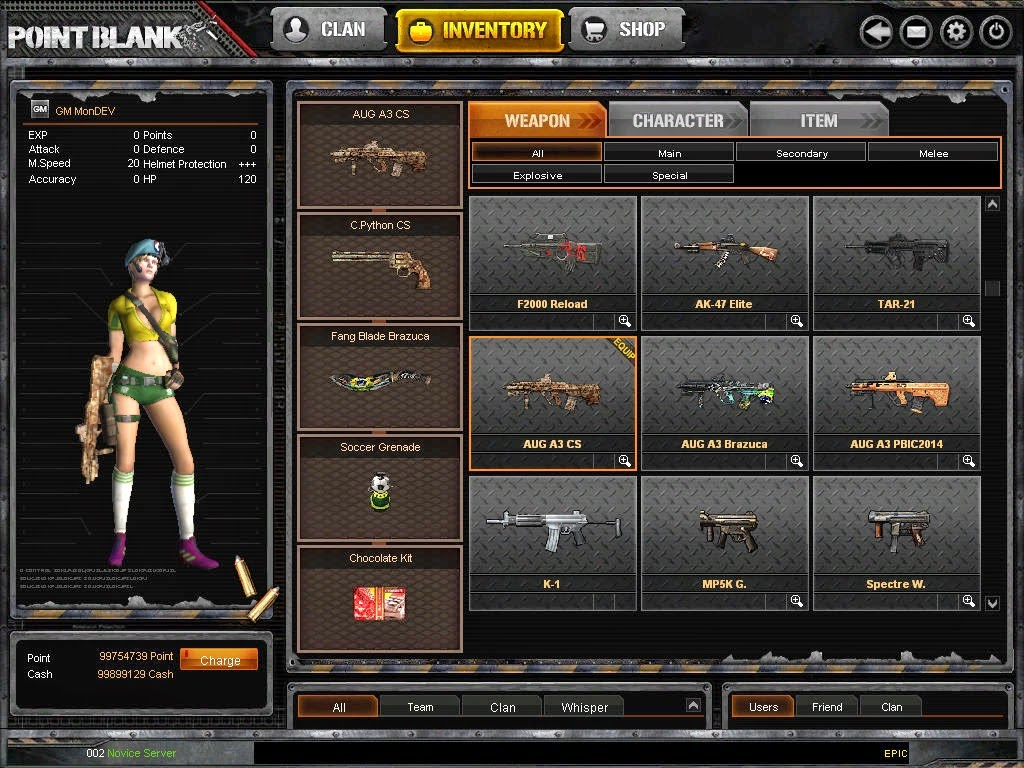 Id weapon snipers buat project blackout offline