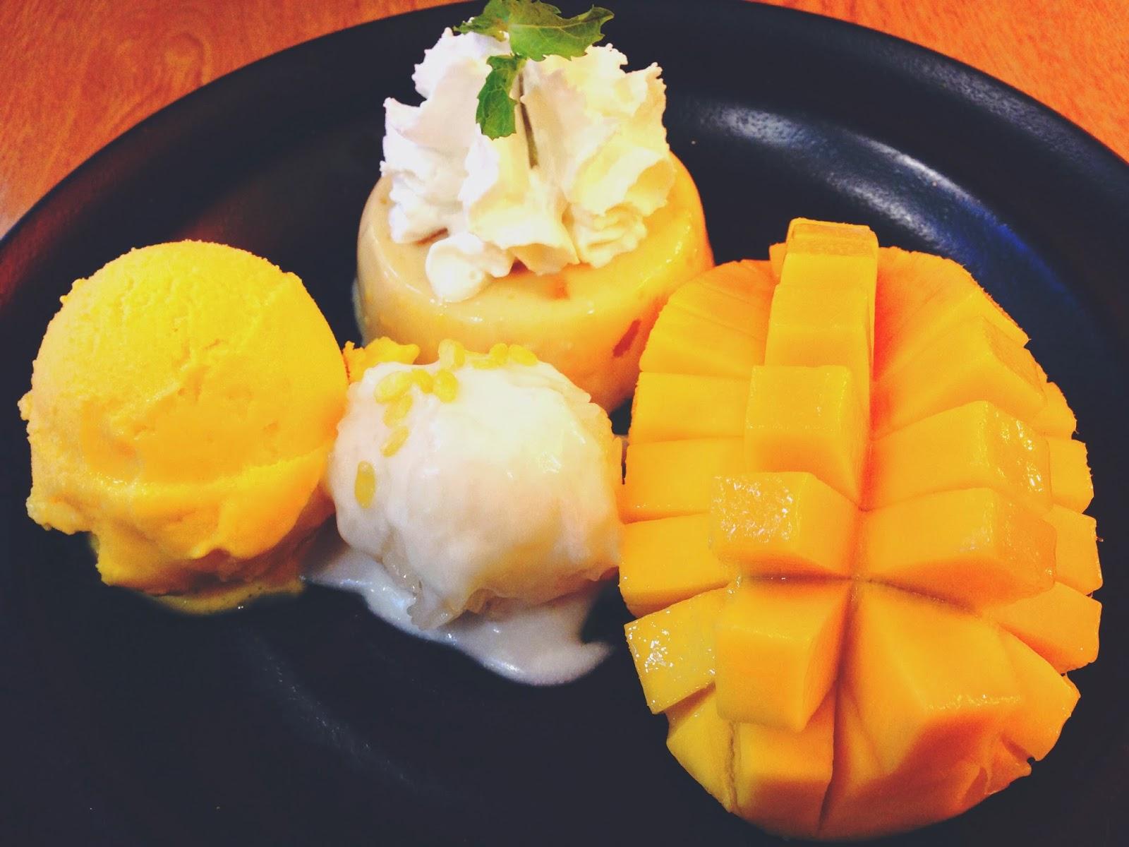 Mango Tango Siam Square Bangkok Mango Tango Sensational Dessert