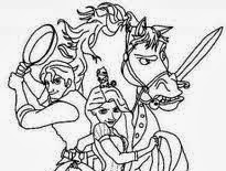 Disney Rapunzel Coloring Pages Free