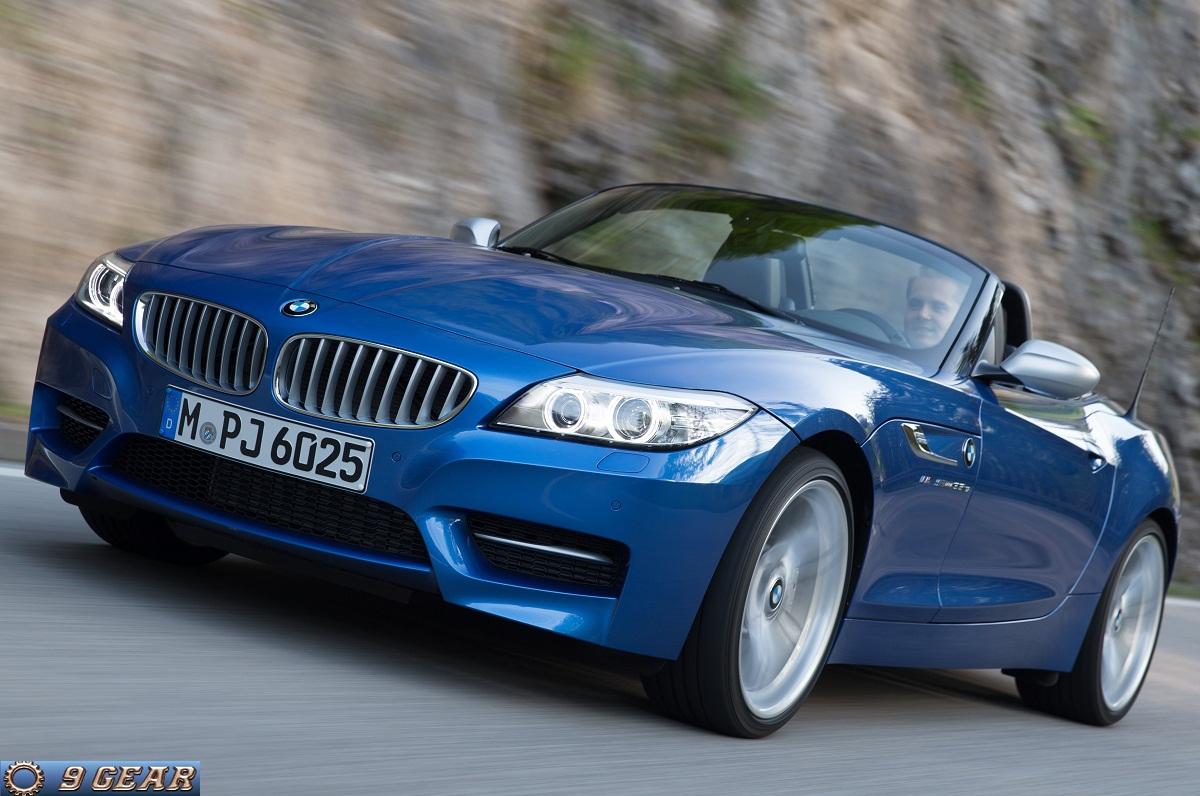 The New Bmw Z4 In Estoril Blue Metallic Car Reviews