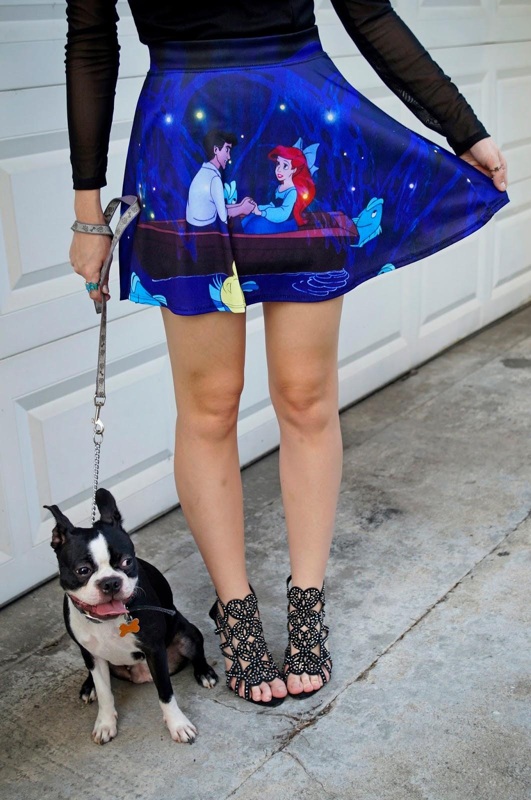 Little Mermaid Skirt from Hot Topic
