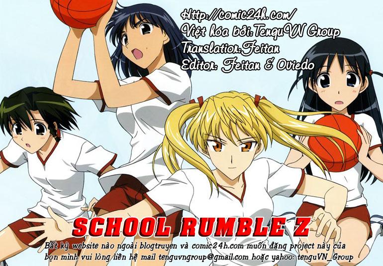 School Rumble Z chap 8 - Trang 1