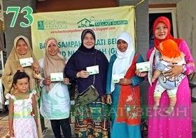 Bank Sampah Melati Bersih GNI Desa Mampir Cileungsi Kabupaten Bogor