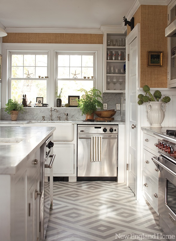 The awesome Cottage beadboard kitchen backsplash photo
