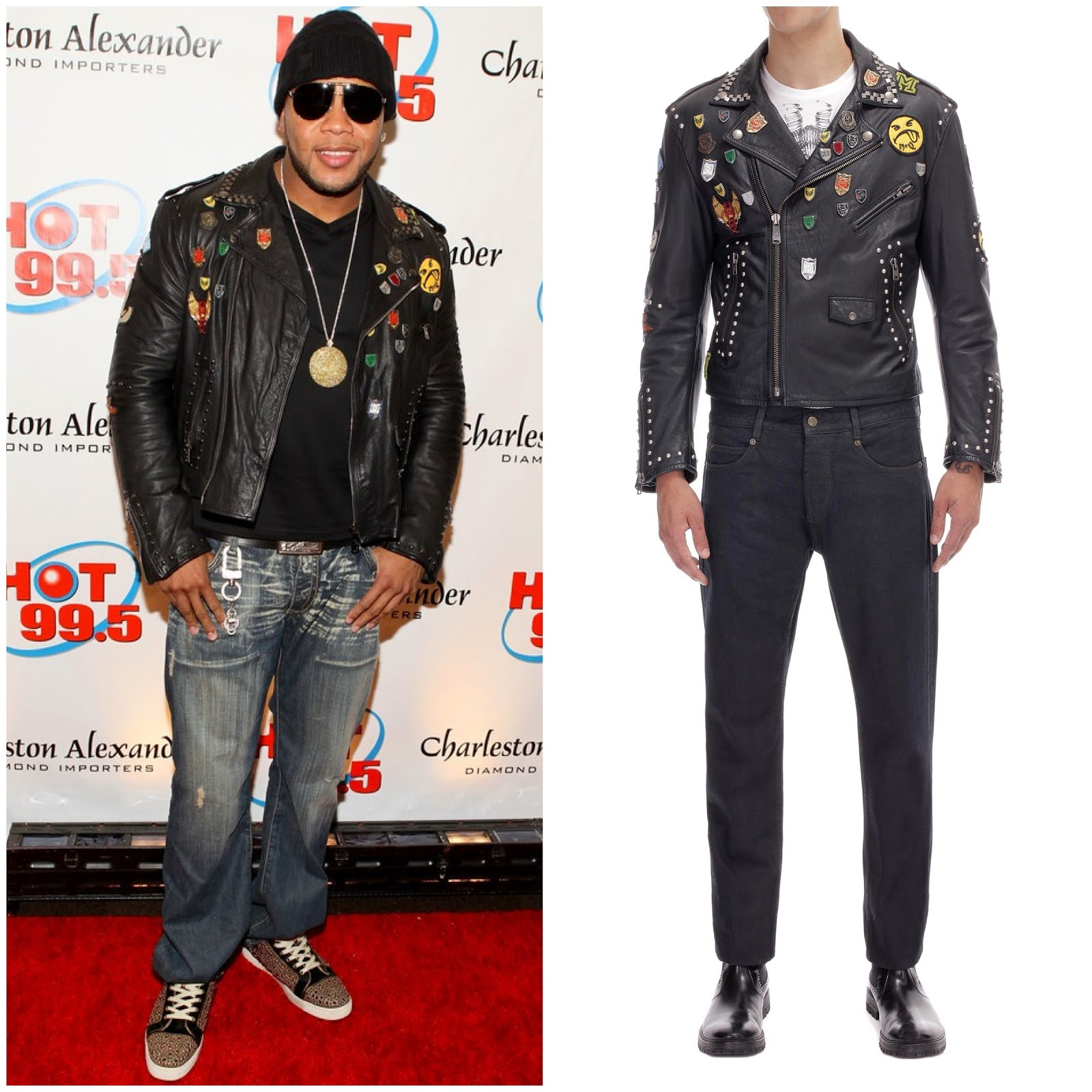 00O00 London Menswear Blog Flo Rida in McQ Alexander McQueen - Hot 99.5's Jingle Ball 2012