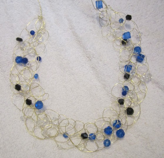 Ravings of a Mad Crafter: Crochet Wire Necklace Tutorial II
