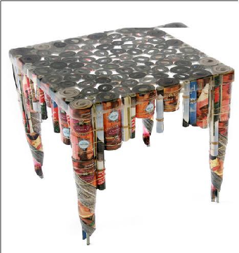 Mobilya fikri mobilya ve dekorasyon fikirleri lg n for Make useful things from waste paper